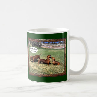 Can Doxies Sing? Maybe not............ Coffee Mug