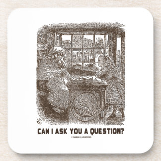 Can I Ask You A Question? (Alice Sheep) Drink Coasters
