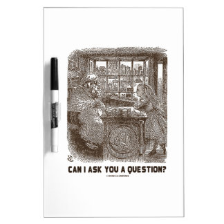 Can I Ask You A Question? (Alice Sheep) Dry-Erase Board