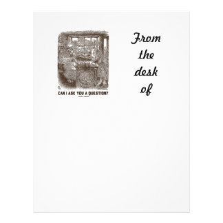 Can I Ask You A Question? (Alice Sheep) Letterhead