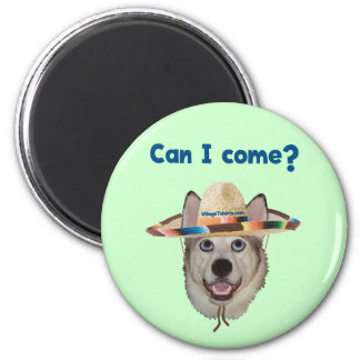 Can I Come Dog Refrigerator Magnets