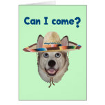 Can I Come Dog Stationery Note Card