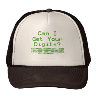 Can I Get Your Digits - Hidden Message Hat