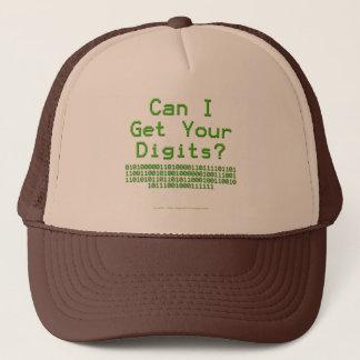 Can I Get Your Digits - Hidden Message Trucker Hat