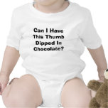 Can I Have This Thumb Dipped In Chocolate? Rompers