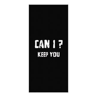 Can I Keep You? Custom Rack Cards