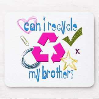 Can I Recycle my Brother Mouse Pad