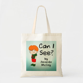Can I See? simple tote bag
