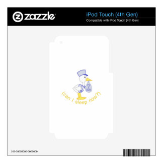 Can I Sleep Now? iPod Touch 4G Skins
