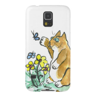 Can I Touch it? asks Fred the cat Case For Galaxy S5