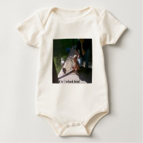 Can I whack him? Baby Bodysuit