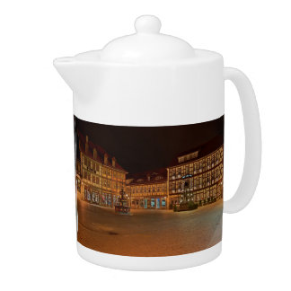 Can market place who Niger ode at night Teapot