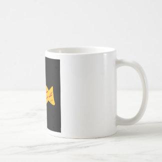 Can muck classic white coffee mug