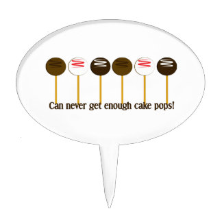 Can never get enough cake pops! cake topper