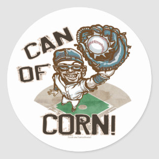 Can of Corn! Sticker
