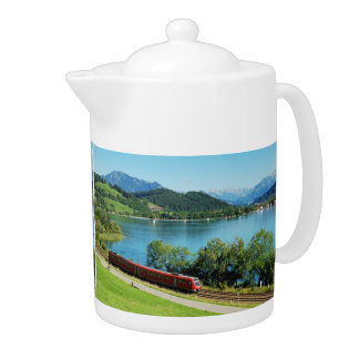 Can of large Alpsee with Immenstadt Teapot