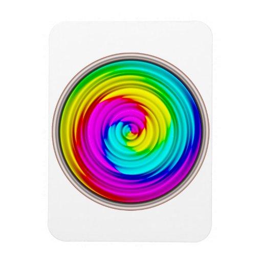 Can of Paint Transparent Rectangular Photo Magnet