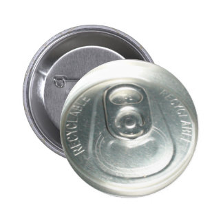 CAN PULL TAB PINBACK BUTTON