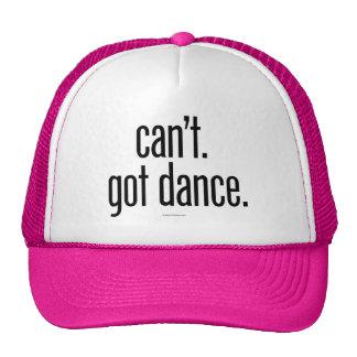 Can't. Got Dance. Trucker Hat