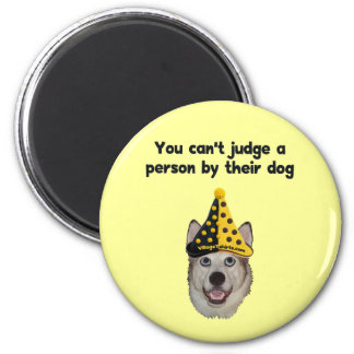 Can t Judge A Person Refrigerator Magnet