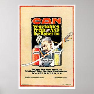Can the Kaiser - Print