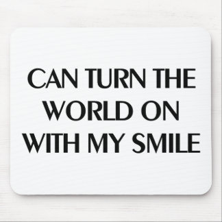 Can Turn the World Mouse Pad