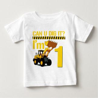 Can U Dig It? I'm 1 Infant T-shirt
