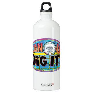 Can U Dig It Tie Dye Aluminum Water Bottle