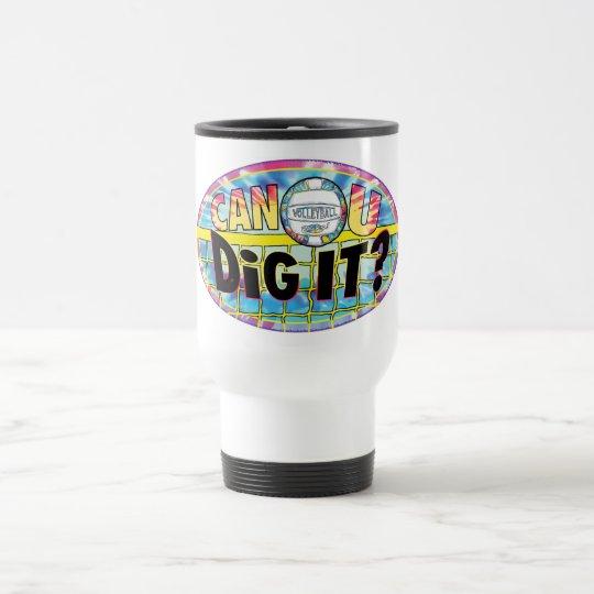 Can U Dig It Tie Dye Travel Mug