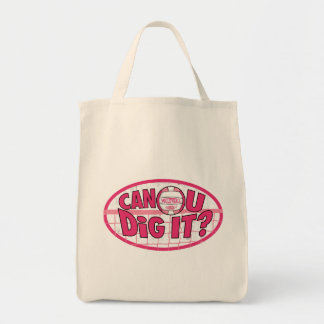 Can U Dig It Variety Canvas Bag