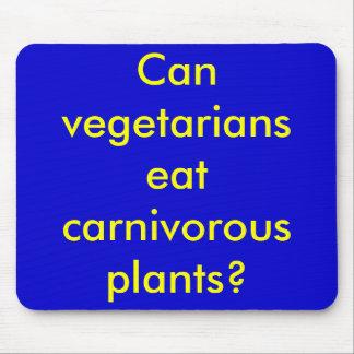Can vegetarians eat carnivorous plants? mouse pad