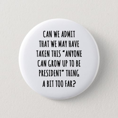 Can We Admit Button
