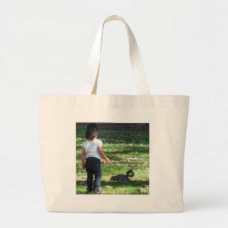Can We Be Friends? Jumbo Tote Bag