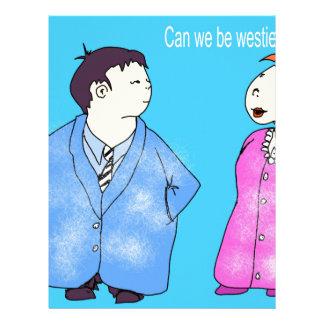 Can we be Westie friends? Letterhead