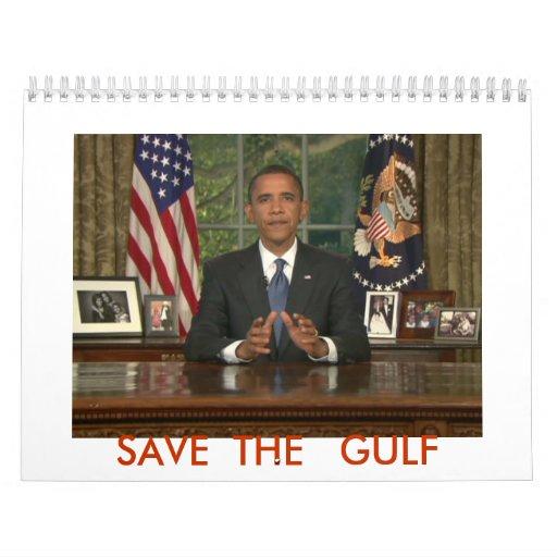 can we change, SAVE  THE   GULF Calendar