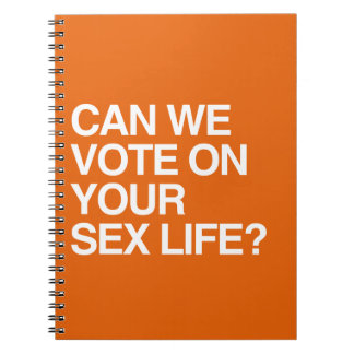 CAN WE VOTE ON YOUR LIFE SPIRAL NOTEBOOK