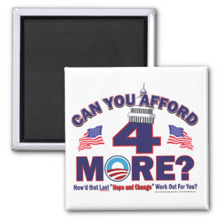 Can You Afford 4 More Years of Obama Magnet