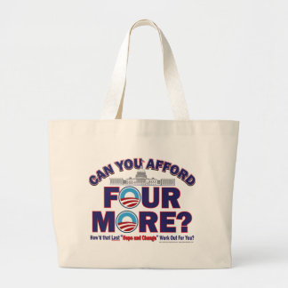 Can You Afford Four More Large Tote Bag