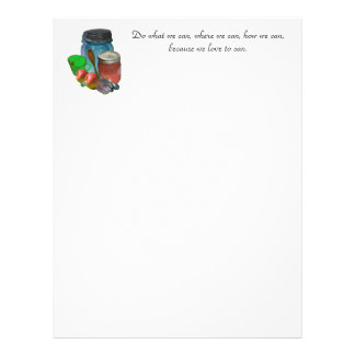 Can you can, Do what we can, where we can, how ... Letterhead