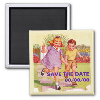 Can You Come Out To Play? Save the Date Magnet