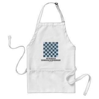 Can You Complete The Second Half Of The Chessboard Adult Apron