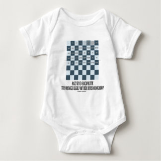 Can You Complete The Second Half Of The Chessboard Baby Bodysuit
