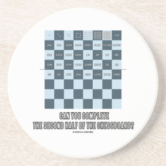 Can You Complete The Second Half Of The Chessboard Coaster