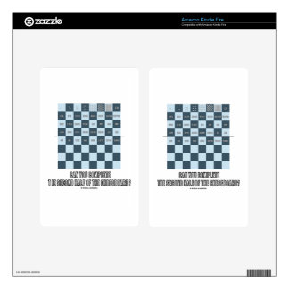 Can You Complete The Second Half Of The Chessboard Decal For Kindle Fire