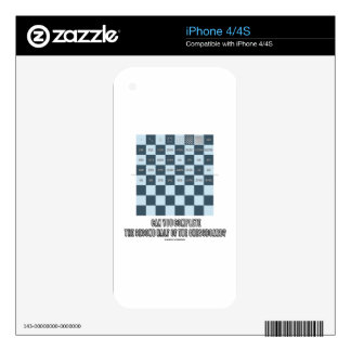 Can You Complete The Second Half Of The Chessboard Decals For iPhone 4S