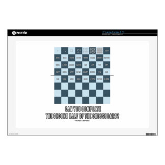 Can You Complete The Second Half Of The Chessboard Decals For Laptops