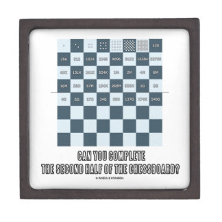 Can You Complete The Second Half Of The Chessboard Gift Box