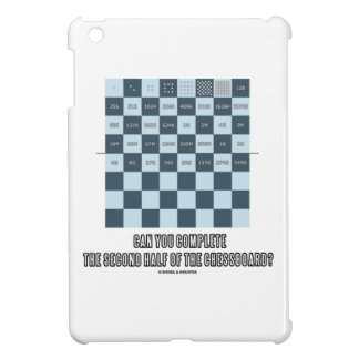 Can You Complete The Second Half Of The Chessboard iPad Mini Covers