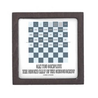 Can You Complete The Second Half Of The Chessboard Keepsake Box