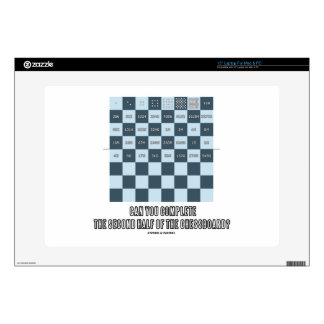 Can You Complete The Second Half Of The Chessboard Laptop Decal